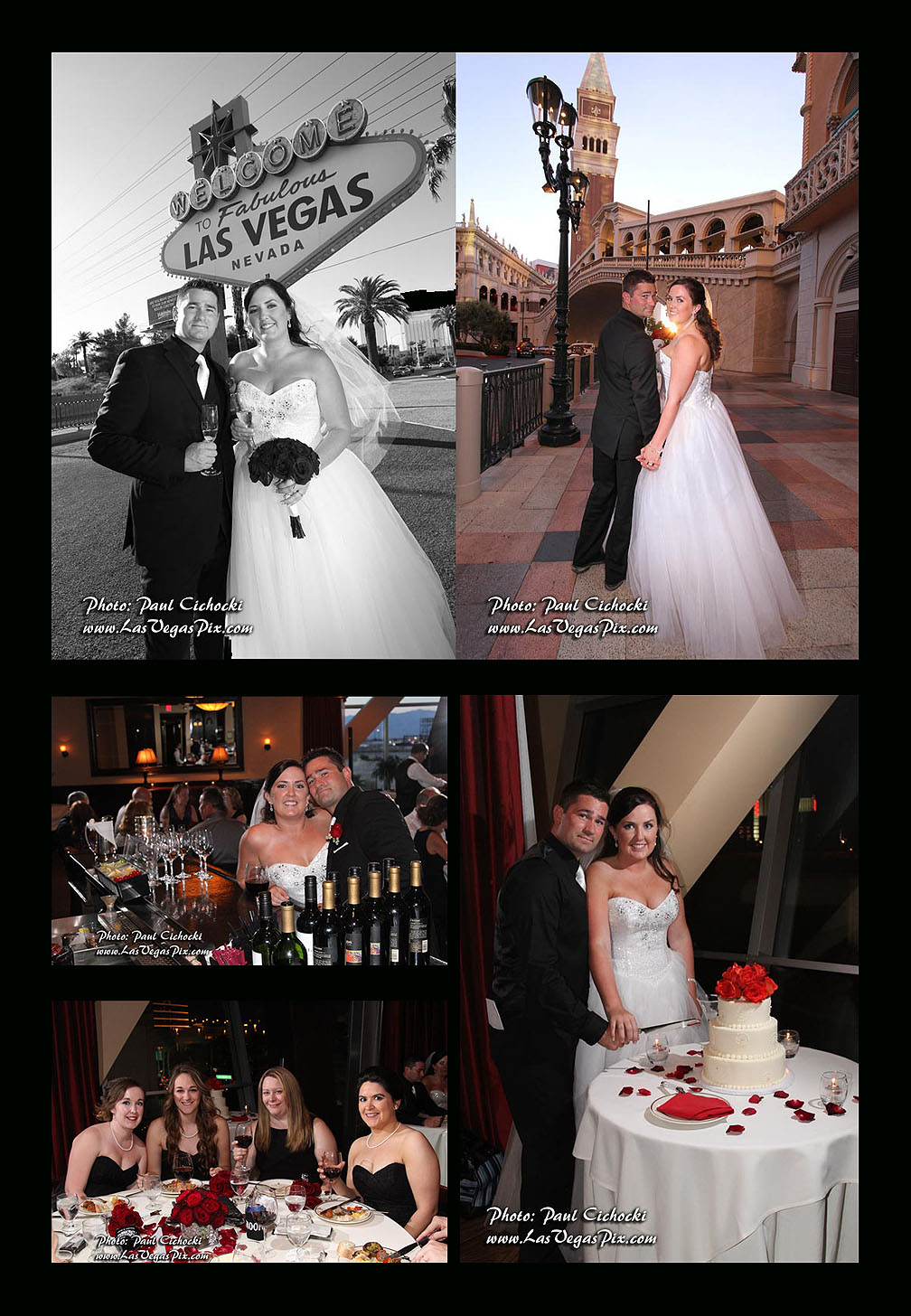 Las Vegas Wedding photographer Venetian, Vegas sign, Maggianos, reception