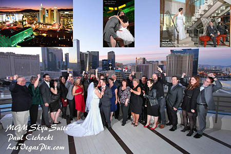 Rent A Skyline Terrace Suite MGM Biggest Balconies In Vegas Has Killers Views Holds 15 40 People For Party Minister Or Officiant Can Come Up And Do