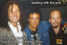 Paul with Journey