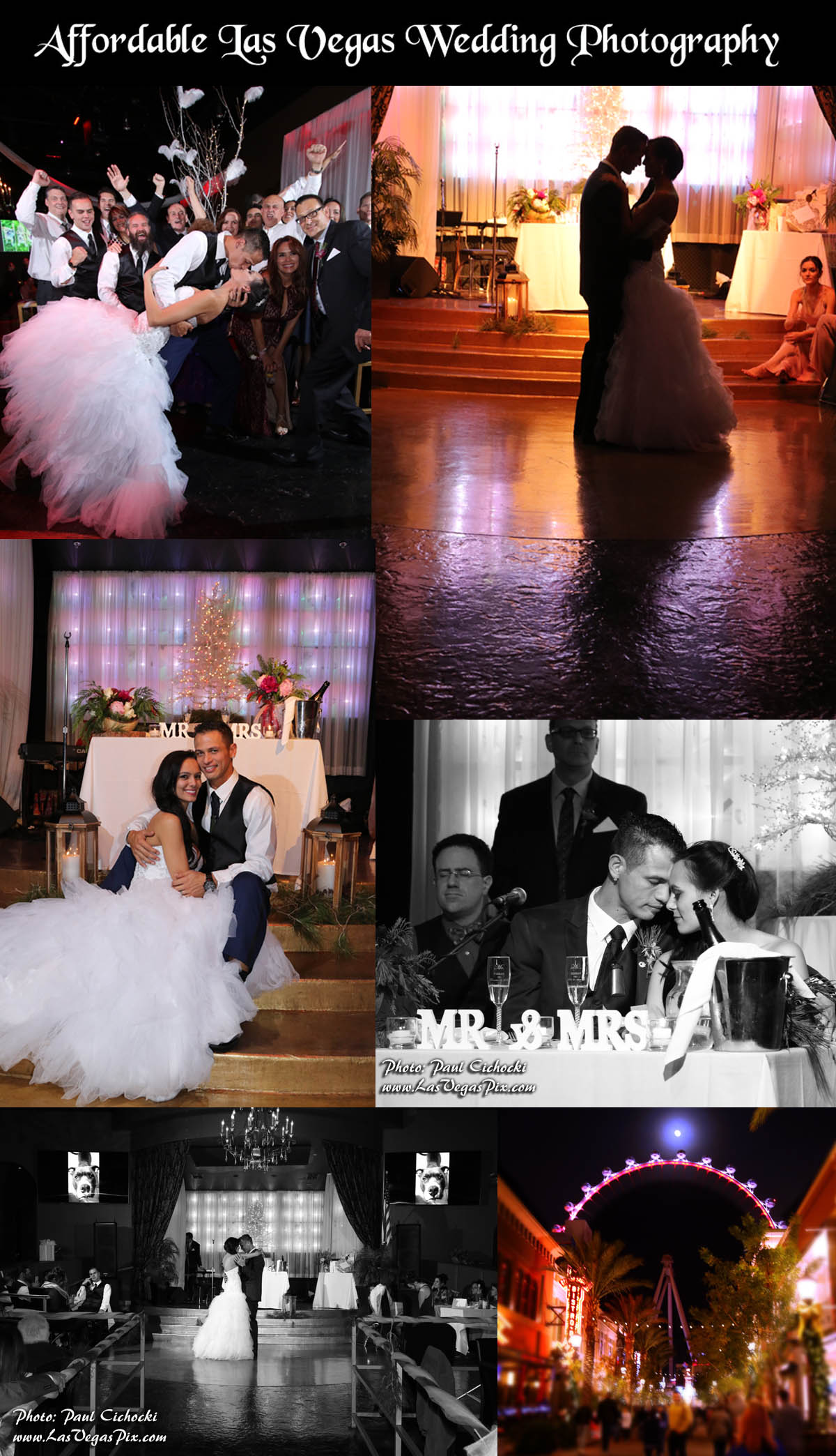 Affordable las vegas wedding photography offers budget for Affordable vegas weddings